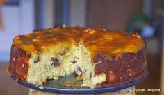 Zdrowo zakręcona: Kokosowe ciasto z rodzynkami, mango i kokosowym karmelem. Boskie!
