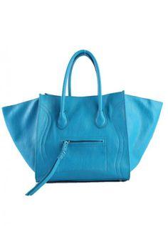 Blue Fashion Satchels Bag With Tassel$45.00