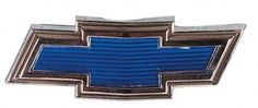 "1969-1970 Chevy Truck Blue ""Bowtie"" Hood Emblem.   Chevy Parts"