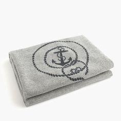 J.Crew - Faribault™ Woolen Mill Co. for J.Crew anchor blanket
