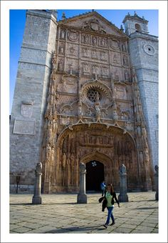 Iglesia de San Pablo (Valladolid) Spain Beautiful Places In Spain, Beautiful Places To Travel, San Pablo, Great Works Of Art, Places Around The World, Around The Worlds, Worship Service, Spain And Portugal, Chapelle