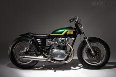 Yamaha XS650 bobber - beatifully balanced lines