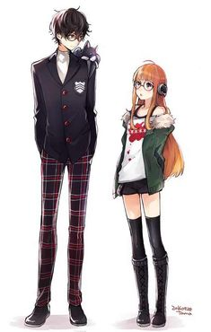 I swear I've seen this girl to many times, what anime is she from? someone help me out here! -Milkev Gaming << Futaba Sakura from Persona 5 -Kyoko (astrosakurai) Manga Couples, Cute Anime Couples, Vocaloid, Manga Anime, Anime Boys, Persona 5 Joker, Persona 5 Cosplay, Persona 4, Familia Anime