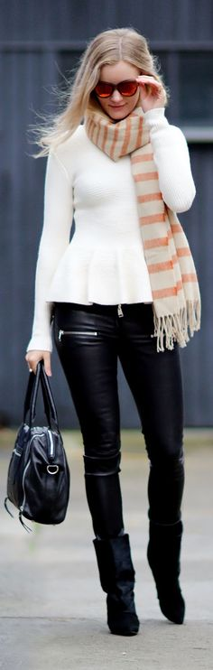 Daily New Fashion : Fall / Winter - street chic style