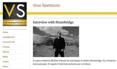 To my Italian fans: Did an inteview with Michele Valente at Voce Spettacolo - English below the Italian section. Check it out! http://vocespettacolo.com/2015/01/14/interview-with-stonebridge/