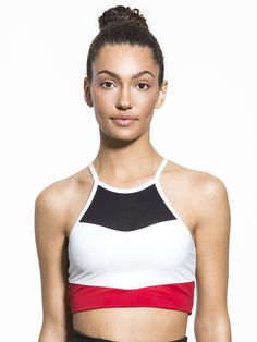 Boom Boom Athletica Cutaway Halter Colour Blocked Bra | 63,19 GBP |