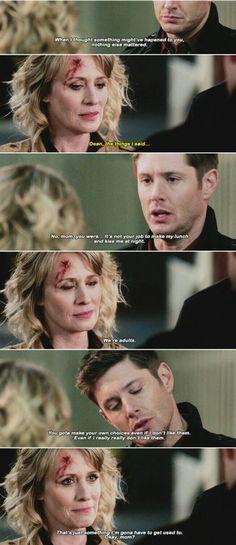"""Supernatural 12x14 """"The Raid"""".  No, Dean. This is still not OK!"""