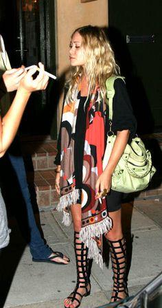 Chanel Gladiator Sandals, Balenciaga Bag