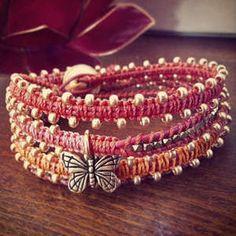 In The Garden | Free Macrame Wrap Bracelet Project | Beadshop.com