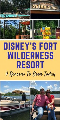 Disney& Fort Wilderness Resort And Campground: 9 Reasons You Should Book Today Disney Resort Hotels, Disney World Hotels, Disney World Vacation, Disney Vacations, Disney Trips, Disney Travel, Disney Worlds, Cruise Vacation, Vacation Destinations