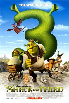 The King of Far Far Away has died and Shrek and Fiona are to become King & Queen. However, Shrek wants to return to his cozy swamp and live in peace. Justin Timberlake, Shrek, Eddie Murphy, Tv Series Online, Movies Online, Narnia, Disney Cinema, Isabelle Nanty, New Fathers