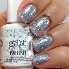 Gelish Cinderella Collection - If the Slipper Fits - swatch by Chickettes.com