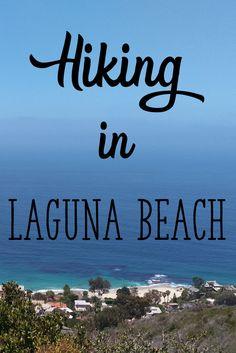 Hiking in Languna Beach