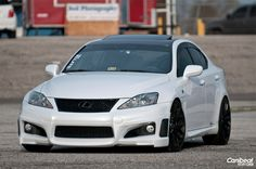 The Lexus ISF, from the F-sport line from Lexus is a relatively new performance line being less then 10 years old , The ISF is Based off the IS series the (basic sedan model)
