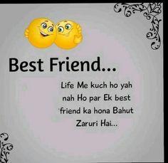 Friendship Shayari, Funny Thoughts, Life Is Good, Best Friends, Food, Beat Friends, Bestfriends, Essen, Life Is Beautiful