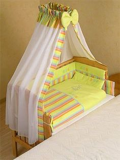 Relaxed mums: Joint baby bed, perfect for breast-feeding, no getting up at… Baby Crib Bedding, Baby Bedroom, Baby Cribs, Kids Bedroom, Baby Shawer, Baby Kit, Kit Bebe, Moise, Baby Furniture