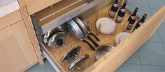 Кухонные ёмкости BARREDO CASSETTO - Многофункциональная панель с держателями