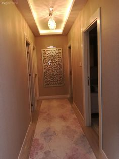 I wanted to share some pictures from my house . Gypsum Ceiling Design, Ceiling Light Design, False Ceiling Design, Flur Design, Plafond Design, False Ceiling Living Room, Hallway Designs, Luxury Decor, Diy Interior