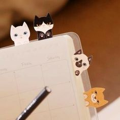 Looking up quality cat products and came across these Kitty Sticky Notes. What a great gift for cat lovers. Crazy Cat Lady, Crazy Cats, Little Presents, Sticky Notes, Cat Art, Cats And Kittens, Tabby Cats, Cute Cats, Scrapbooks
