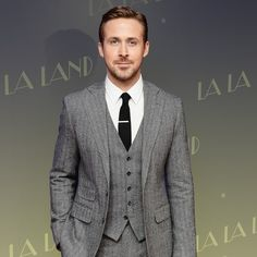 Ryan Gosling Can't Stop Wearing Three-Piece Suits   GQ