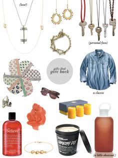 LOVE gifts that give back! give-back-guide from Stripes & Sequins