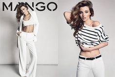 #MirandaKerr #Stripes for mango