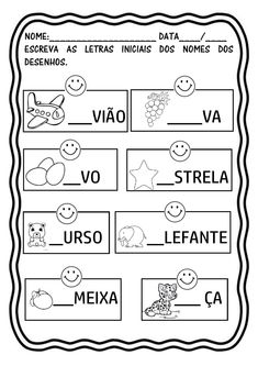 Preschool Writing, Kindergarten Math Worksheets, Learn Portuguese, Learning Numbers, Learn A New Language, Slogan, Activities For Kids, Homeschool, Education