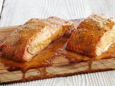 Sweet Cedar Plank Salmon