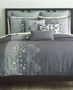 Bryan Keith Bedding, Oxford 9 Piece Comforter Sets - Bed in a Bag - Bed & Bath - Macy's