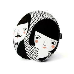 Evaristo & Manuela Print Black  /// Folk Collection by Paparajote Factory - Serie Folk de Paparajote Factory