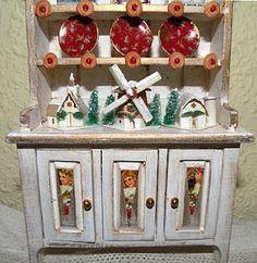 true2scale: putz village   Dollhouse Miniatures   Printables, Tutorials, Inspiration