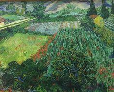 Van Gogh Mohnfeld 1889 Kunsthalle Bremen