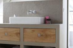 badkamer van styliste marie gon vos | tegels van mozaiek.com