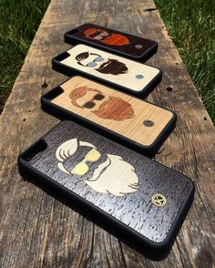 It's a good thing the boys have their shades on because it's a gorgeous sunny day here today! These cases are all available at the link in the BIO. Check them out!