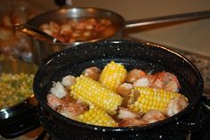 Low Country Shrimp Boil! Yummy & feeds a crowd!