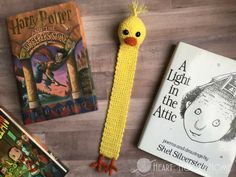 Duck Bookmark Free Crochet Pattern