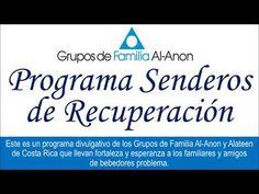 Programa Senderos de Recuperación. Tema: También Al-Anon es para hombres - YouTube Al Anon, Costa, Education, Youtube, Books To Read, Fortaleza, Men, Onderwijs, Learning