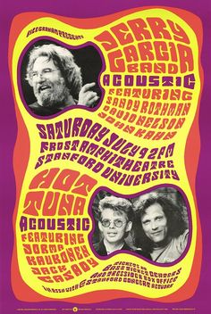 Grateful Dead Archive Online | Jerry Garcia Band - acoustic - featuring Sandy Rothman, David Nelson, John Kahn. Hot Tuna - acoustic - featuring Jorma Kaukonen, Jack Casady. July 9, 1988, Frost Amphitheatre, Stanford University