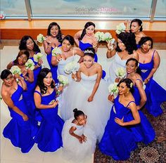 Bridesmaids in Blue WEDDaily007