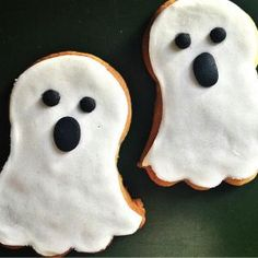 Galletas Halloween fantasma