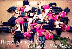 Happy Founders Day to the Sisters of Gamma Phi Beta! <3 ASU Gamma Phi- Beta Kappa