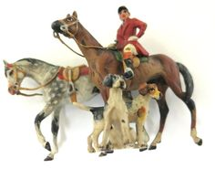 Ready For the Hunt ~ Vintage Horses & Hounds ~