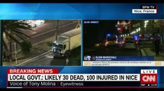 Truck driver attacks crowd 30 dead 100 injured in nice Portuguese Food, Crowd, The Voice, The 100, Trucks, France, Nice, Youtube, Track