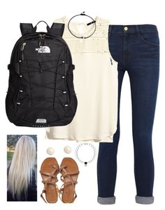 """Do y'all like this for the first day of school?"" by kaley-ii ❤ liked on Polyvore"