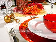 Apparecchiamo la tavola di Natale e per tutte le Feste
