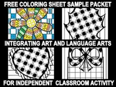 This product is so much fun...and it is also FREE. My LanguageART lessons integrate art and language arts for classroom use by providing printables for independent seat work...VERY LITTLE PREP TIME FOR YOU! This free lesson introduces your kids to my paid seasonal coloring sheets for Winter, Fall, Christmas, and now Spring through a sampler of seasonal printables to be used in your classroom.
