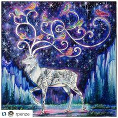 Instagram media desenhoscolorir - Estou sem palavras  By  @rpenze ・・ #florestaencantada #desenhoscolorir #enchantedforest #johannabasford # #livrosdecolorir