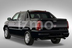 Rear view of black 2007 Cadillac Escalade EXT SUT