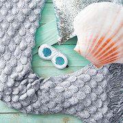 Seatail on today! Mermaid Tail Blanket, Merino Wool Blanket, Groomsmen, Mermaids, Little Girls, Nautical, Knit Crochet, Husband, Entertaining