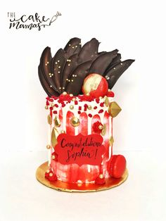 WINNERS of Food Networks Cupcake Wars! We're located in Glendora, California. Buttercream Decorating, Cake Decorating, Cupcake Wars, Drip Cakes, Custom Cakes, Food Network Recipes, Red Velvet, Valentines Day, Birthday Cake